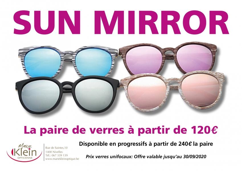 Promotion Sun Mirror 2020